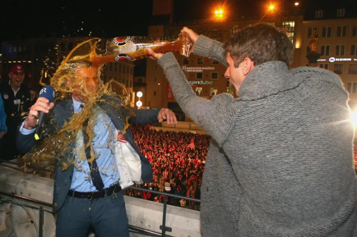 Pranks, beer showers and a horse called Dave - why we love Thomas Muller