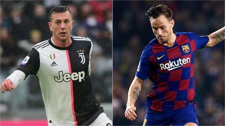 Barca 'include Rakitic & Umtiti' in deal to sign Juventus winger Bernardeschi