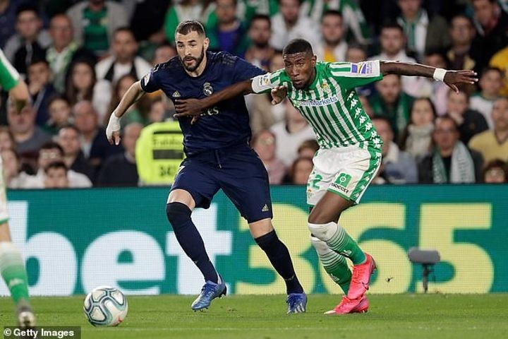 Barcelona 'consider paying £8m to reacquire Emerson from Betis for next season'