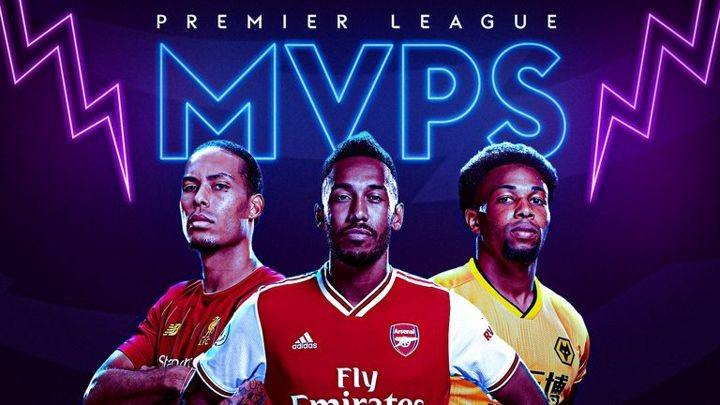 Auba, Van Dijk, Willian, De Bruyne, Son... The MVP in each EPL club this season!