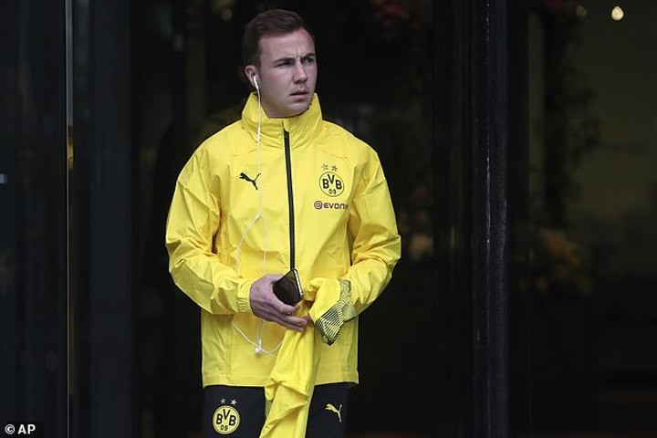Gotze confirms he will leave Dortmund at the end of the season