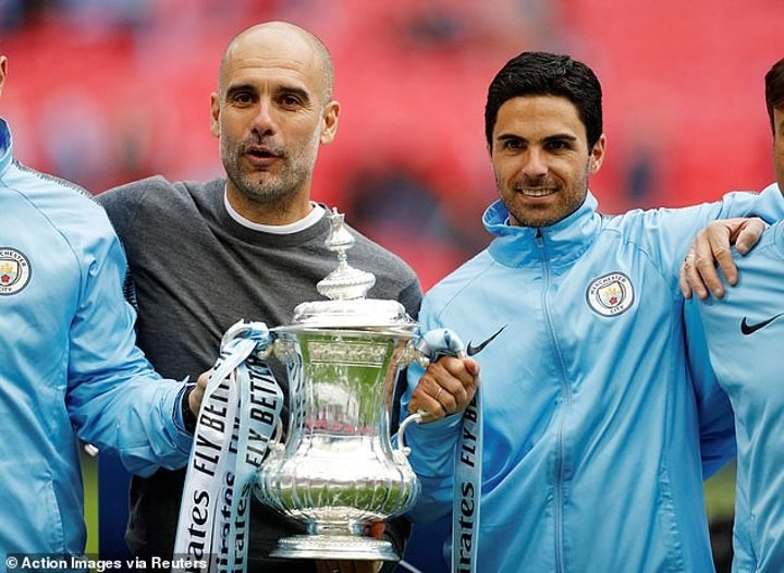 Arteta sends heartfelt message to Guardiola after Man City manager's mother dies