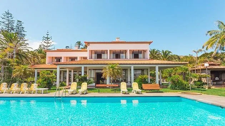 Inside Ronaldo's £3.5k-a-week fishing village home he's sharing with Georgina