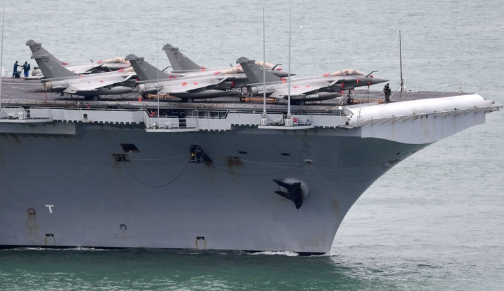 French aircraft carrier has 50 confirmed coronavirus cases on board