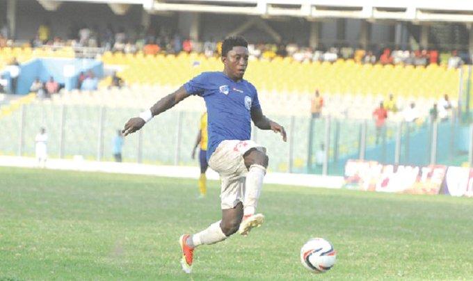 'I'm still a Great Olympics player'- Godfred Saka dispels SACK rumuors