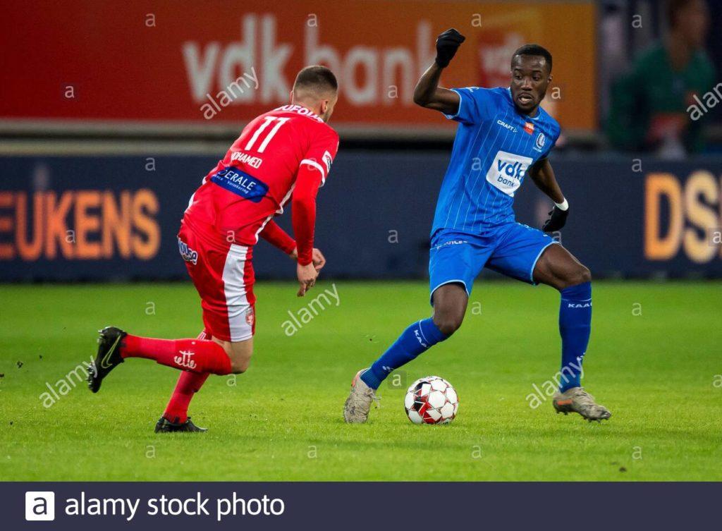 Elisha Owusu's KAA Gent lose Belgium Pro League title to Club Brugge