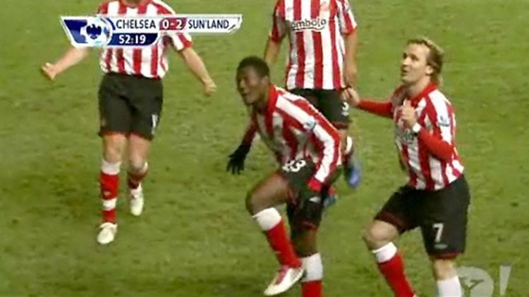 VIDEO: Ex-Dutch winger Bolo Zenden recalls famous 'dad dance' with Asamoah Gyan at Sunderland