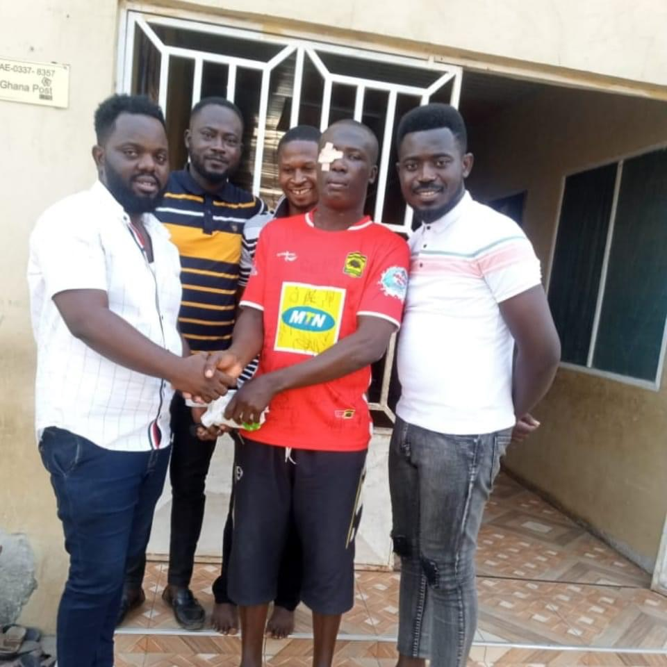 National Circles Council pays for Kotoko fan shot in the eye to have prosthetic