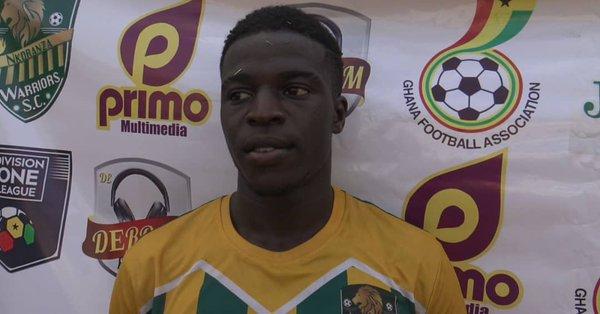 Striker Isaac Mensah rejoins Nkoranza Warriors on loan shortly after sealing Hearts move