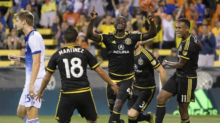 VIDEO: Jonathan Mensah reminisces 'sweet' MLS debut goal for Columbus Crew