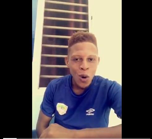 VIDEO: Hearts of Oak defender calls on fans to adhere to coronavirus precautionary measures