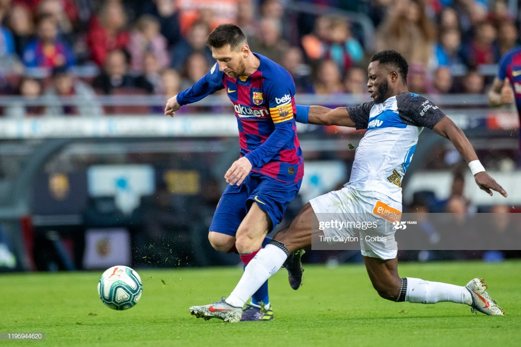 VIDEO: Ronaldo and Messi who is the best player? Ex-LaLiga star Wakaso reveals the best
