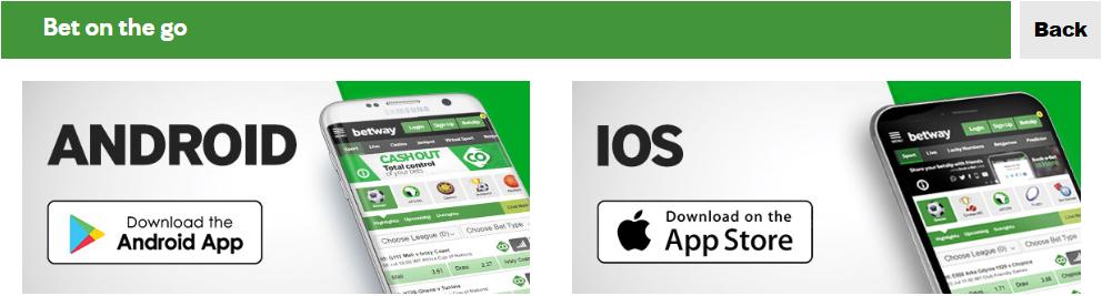 Betway app - download mobile app Betway Nigeria