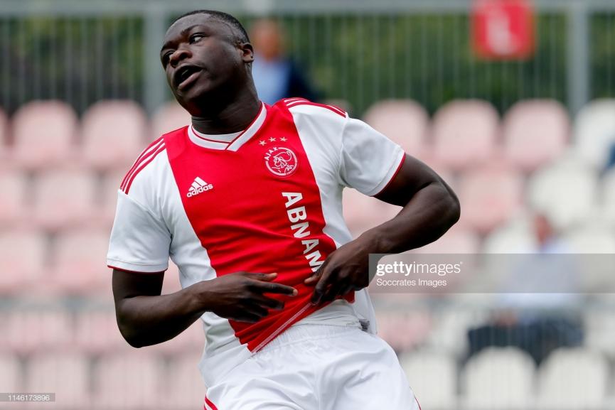 Ghanaian teen Brian Brobbey hits winner for Jong Ajax against Jong FC Utrecht