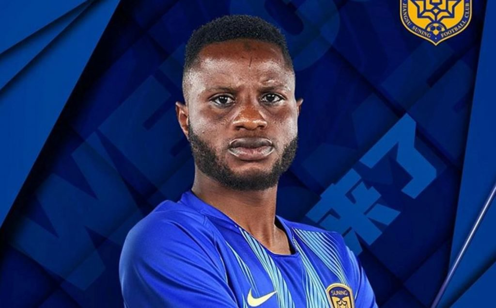 Mubarak Wakaso satisfied with performance on Jiangsu Suning debut