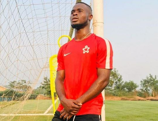 VIDEO: Mubarak Alhassan takes part in Nike Living Room Cup's side steps challenge