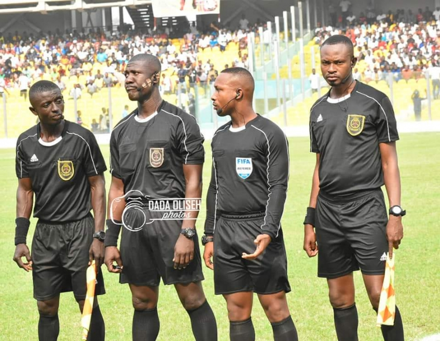 2020/21 Ghana Premier League: Referee Charles Bulu to officiate Hearts-Olympics clash; checkout other officials for Matchday 11