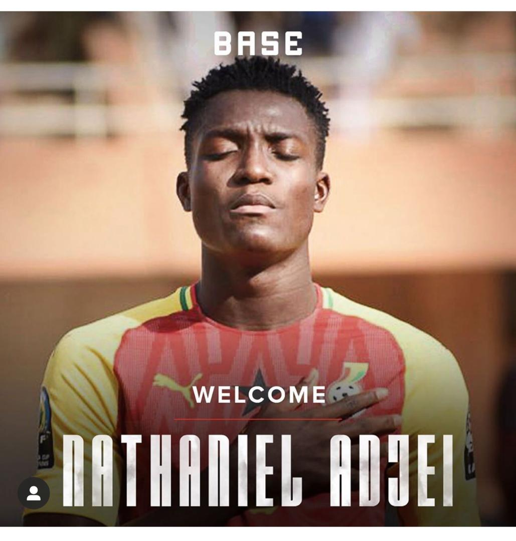 Ghana youth defender Nathaniel Adjei signs with Base Soccer Agency