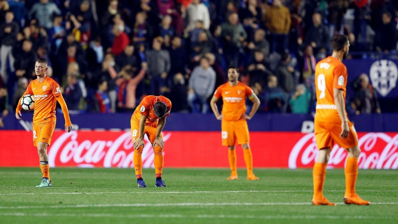 Malaga lay off workers but no players to be affected