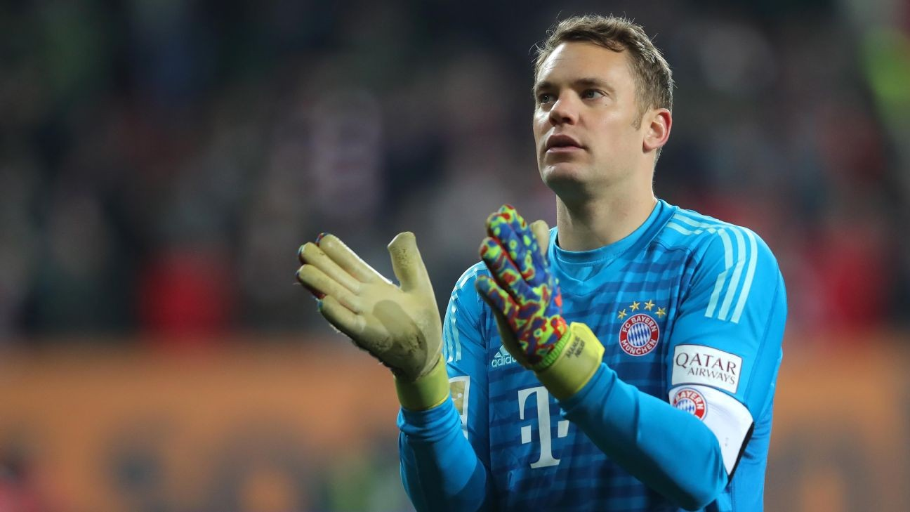 Bayern's Neuer extends contract to 2023, despite Nubel arrival