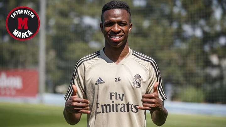 Vinicius: Madrid are stronger team this season & I often watch my goal vs Barca