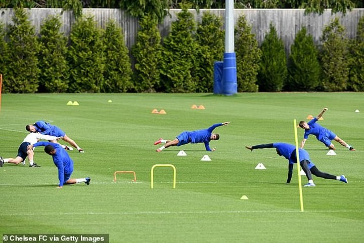 Lampard: I'm happy to be back on training ground, but safety has to come first