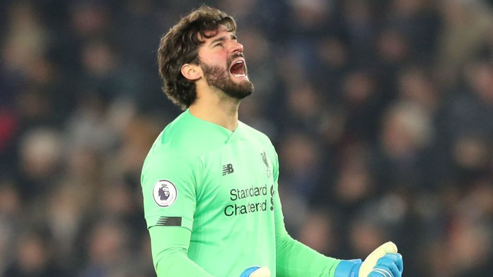 'However good you think Alisson is, he's better'