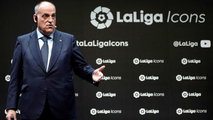 Tebas: La Liga very happy at government's decision, we can't let our guard down