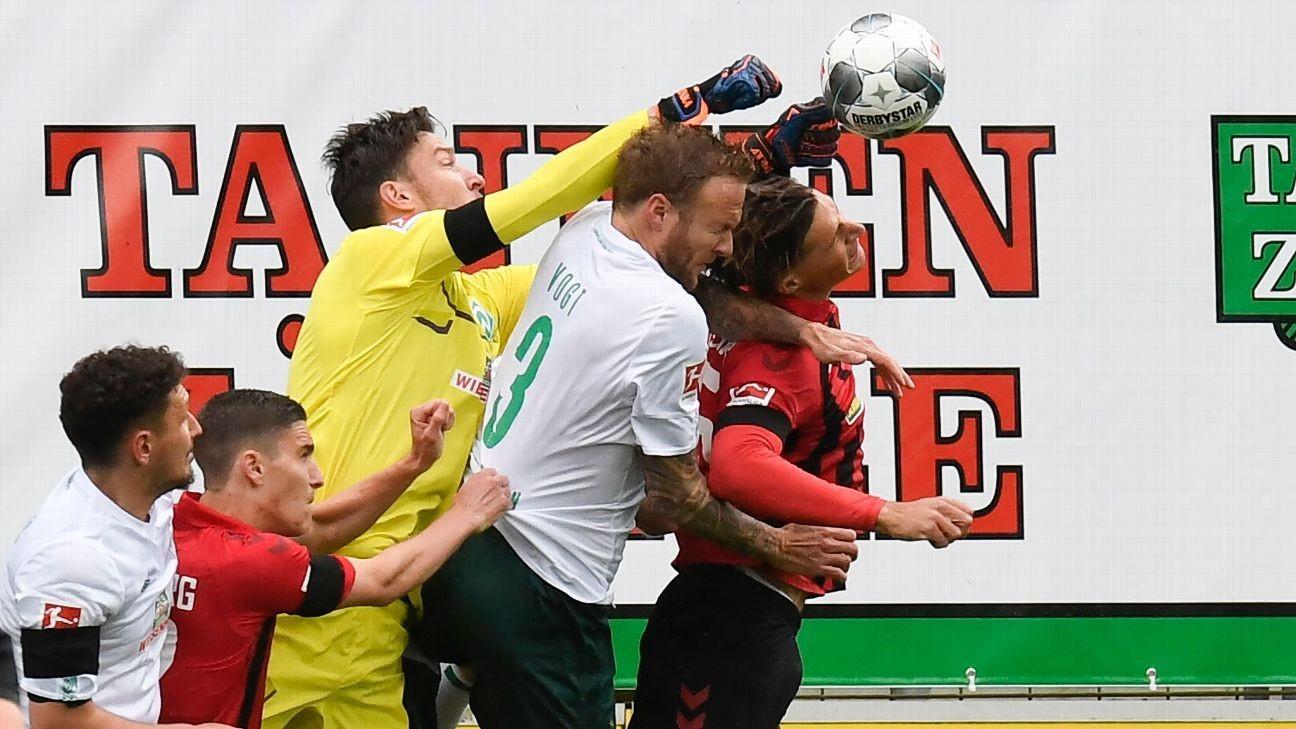 Bittencourt stunner eases Werder Bremen's Bundesliga relegation fears