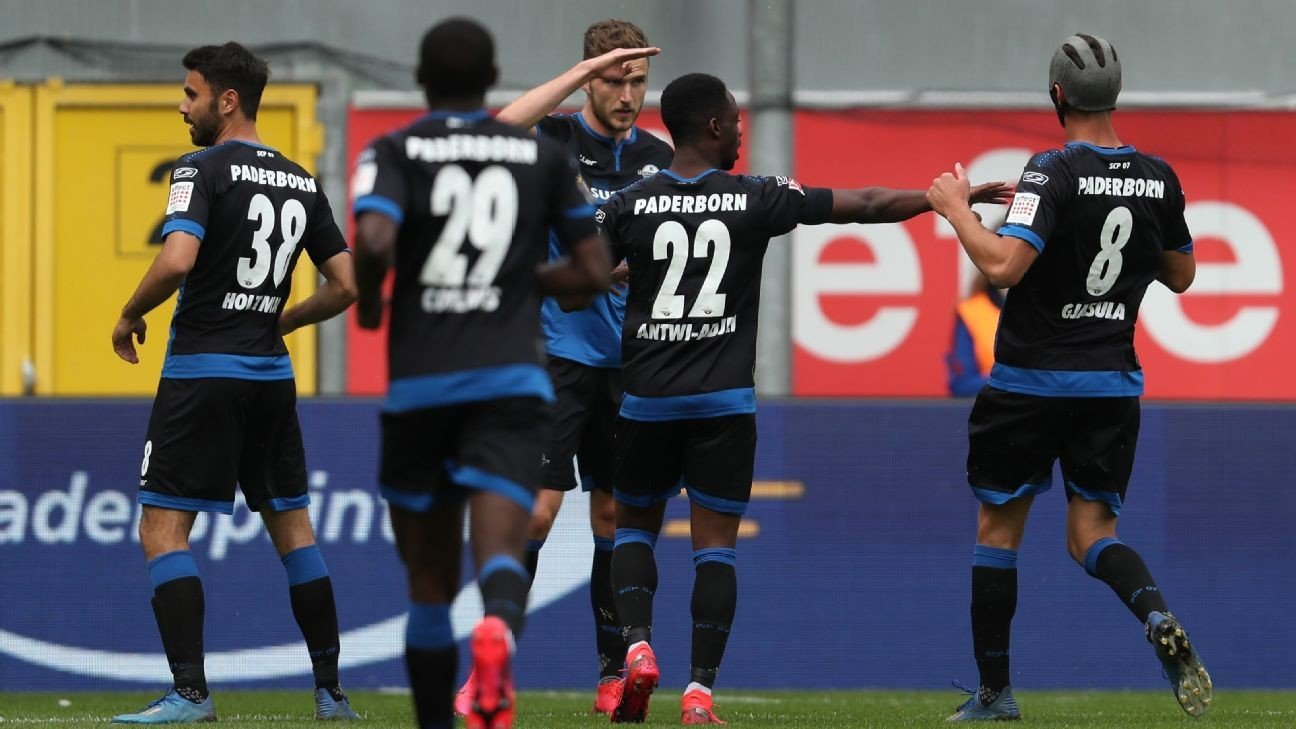 Plucky Paderborn hold Hoffenheim to 1-1 draw