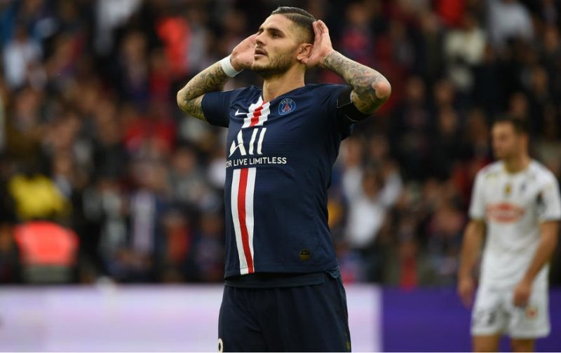 PSG confident of negotiating discount for Inter star Icardi