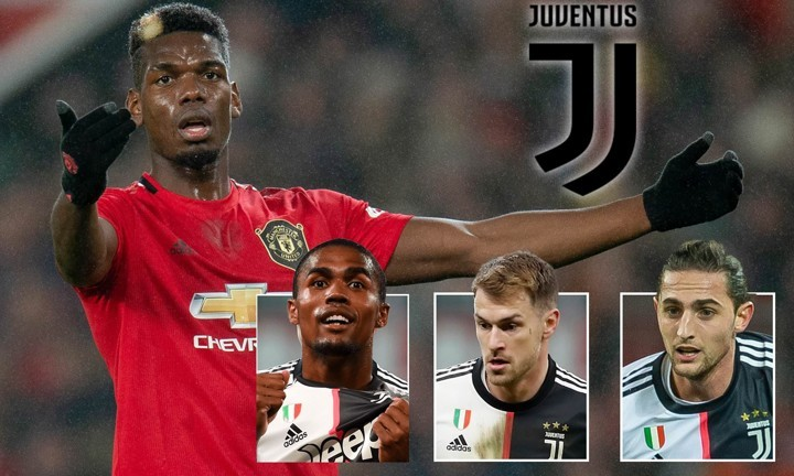 Man Utd 'content to accept Rabiot, Ramsey & Douglas Costa' in Pogba deal