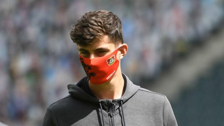 Liverpool target Havertz keeps silent on transfer reports