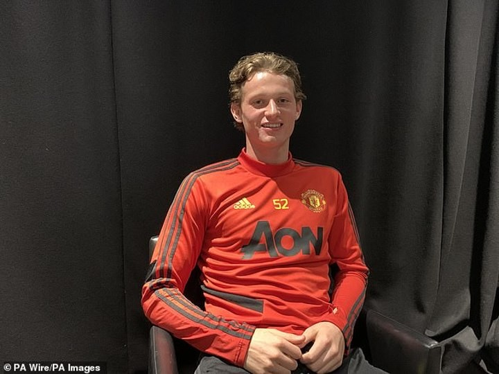 Max Taylor isthe Manchester United kid who beat cancer and is now reviving his career