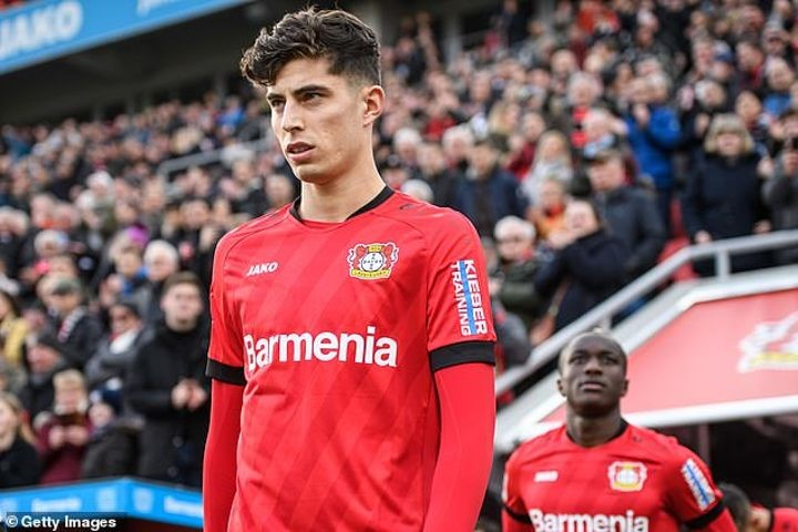 Kai Havertz refuses to be drawn on links with Barcelona, Liverpool and Manchester United