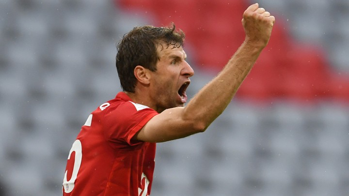 Flick lauds Alaba and Muller's performances in a 5-2 win over Frankfurt