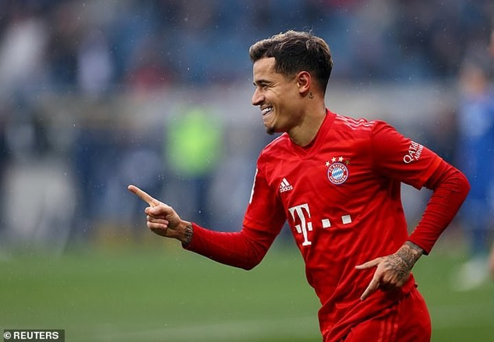 Arsenal 'open talks with Philippe Coutinho's agent' after Bayern Munich opted against permanent move