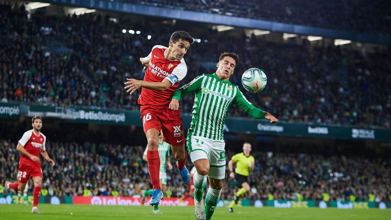 La Liga chief eyes Sevilla-Real Betis derby on June 11 for re-start