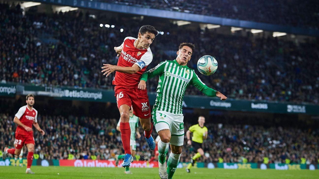 Coronavirus: La Liga chief eyes Sevilla-Real Betis derby on June 11 for restart