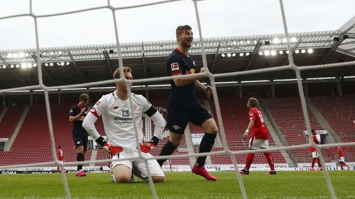 Werner achieves Bundesliga scoring feat for first time in 21 years