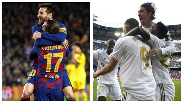 Real Madrid and Barcelona in search of a winning streak that could decide the title
