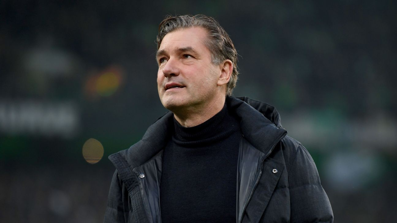 Dortmund must defeat Bayern to remain in Bundesliga title race - sporting director Zorc