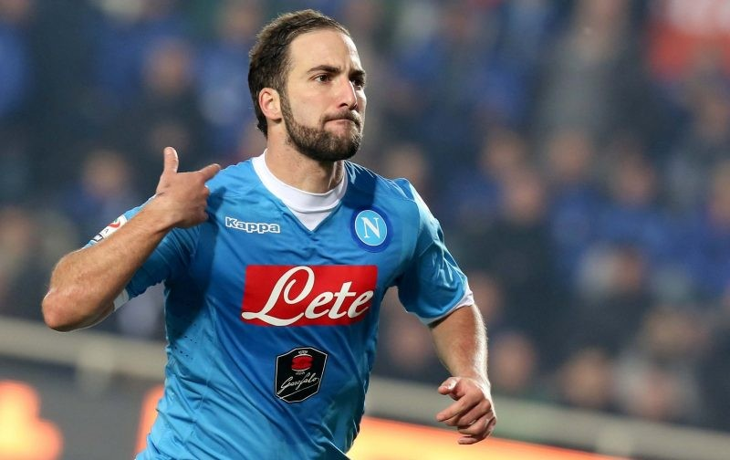 Napoli leave Higuain off all-time Argentine XI