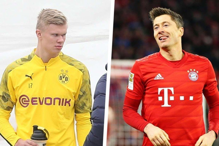 Flick: Lewy has been world-class for years, Haaland comparision is premature