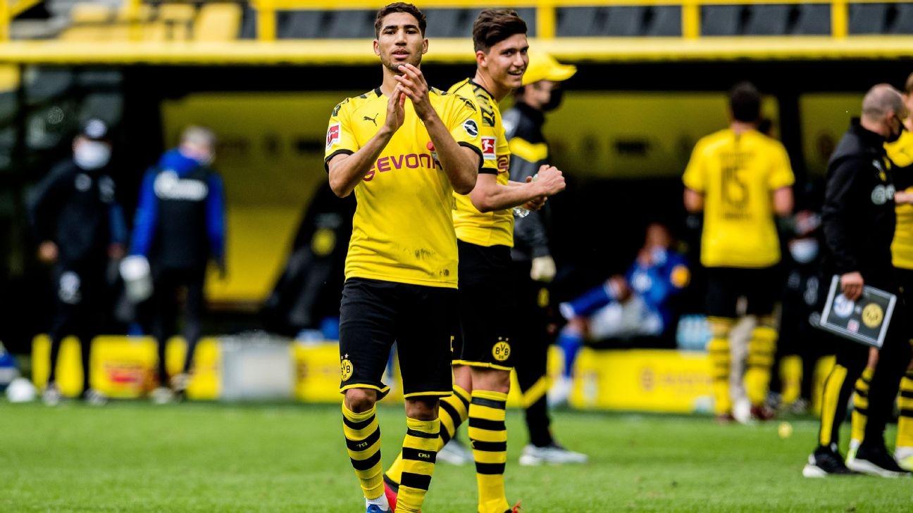 Africans Abroad: Hakimi among goals as Bundesliga gears up for Der Klassiker