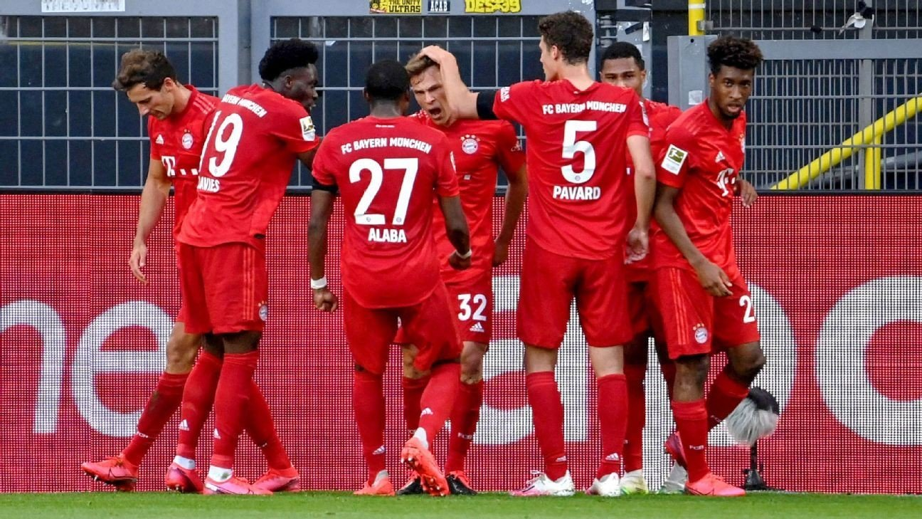 Bayern Munich go seven clear with win over Borussia Dortmund