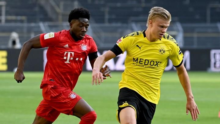 Dortmund star Haaland limps off in Der Klassiker