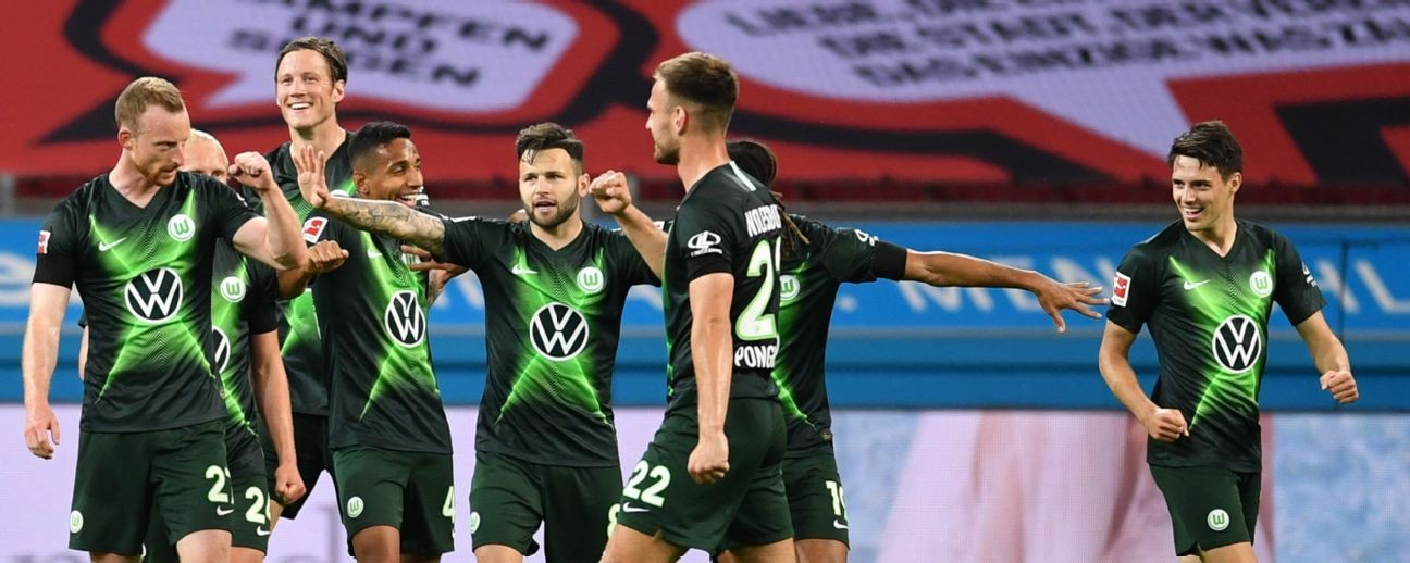 Wolfsburg stun Bayer Leverkusen with Mario Pongracic double