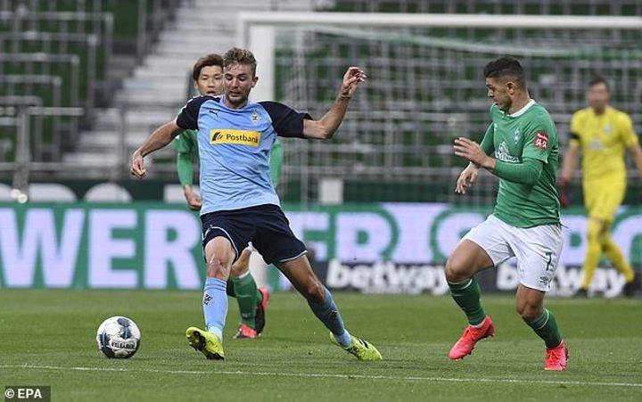 Werder Bremen 0-0 M'Gladbach: Visitors rise to fourth in Bundesliga table