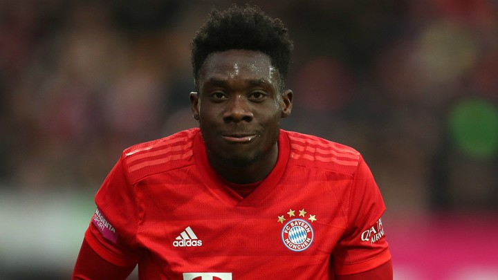 Alphonso Davies admits he often relies on his speed to bail him out